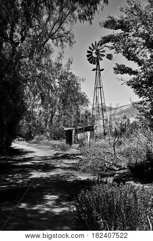 This is a photo of a windmill.