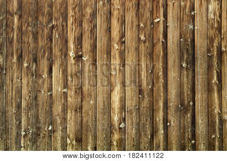 Aged Wood background with staples