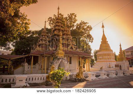 Thailand Lampang Wat Sri Chum Temple