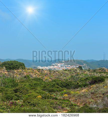 Sunshiny Carrapateira Village, Portugal