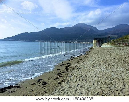 The Mountains of Mourne in Newcastle County Down
