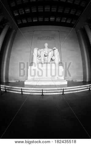 Abraham Lincoln Memorial in Washington DC