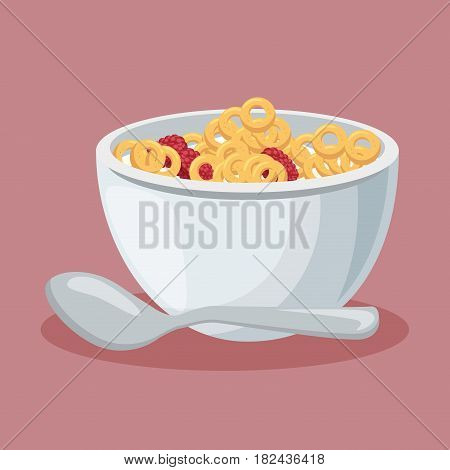 cereal dish isolated icon vector illustration design