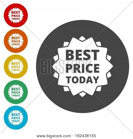 Best Price today. Vector illustration for your business