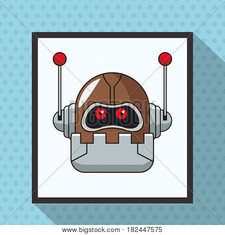robot smart technologies artificial vector illustration eps 10