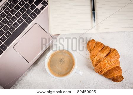 Coffee Break On Workplace