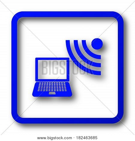Wireless Laptop Icon