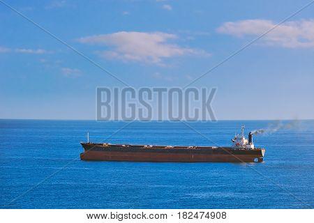 Big Cargo Ship in the Black Sea
