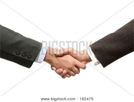 Business Hand Shaking