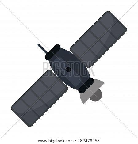 satellite telecommunication transmitter signal world vector illustration eps 10
