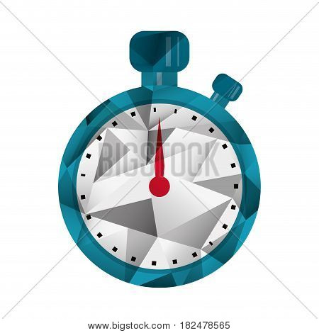 stopwatch chronometer sport equipment abstract vector illustration eps 10