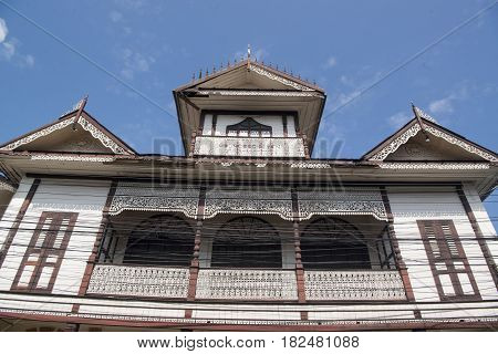 Thailand Lampang City Old Town Woodhouse