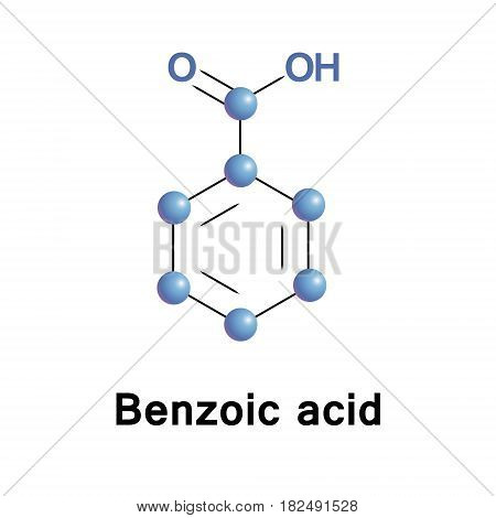 Benzoic acid is colorless crystalline solid and aromatic carboxylic acid. The name is derived from gum benzoin. Benzoic acid occurs naturally in many plants