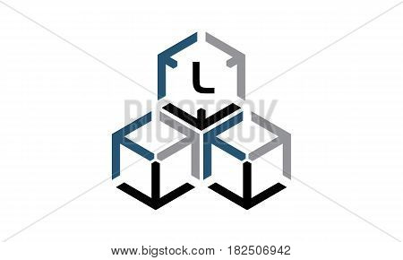This vector describe about Expedition Marketing Initial L