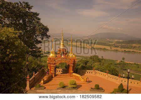 Thailand Chiang Rai Golden Triangle Sop Ruak Wat