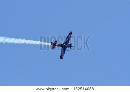 Matt Hall Of Australia Performs During Red Bull Air Race.