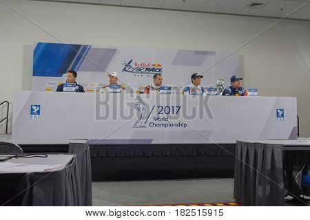 Air Race Press Conference