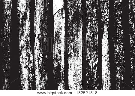 Vector Wood texture. Abstract background, old wooden plank fence. Overlay illustration over any design to create natural wooden effect and depth. For posters, banners, retro and urban designs.