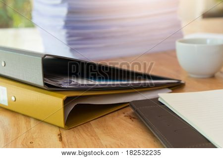 Business Concept Of Office Working, Business Background