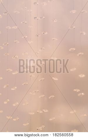 Diamond With Light Rays for Wedding Background ( Filtered image processed vintage effect. )