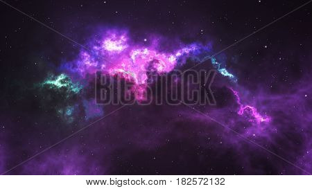Space Nebula - Elements Of This Image Furnished By Nasa