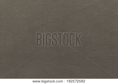 texture and background of rough fabric or cotton material of dark beige color