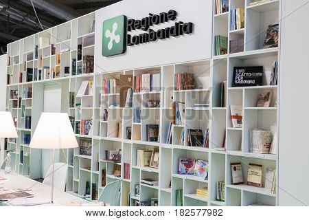 People Visiting Tempo Di Libri In Milan, Italy