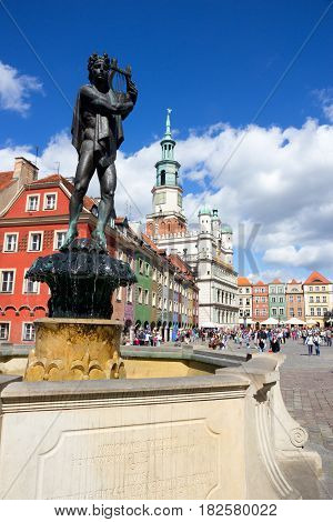 Orpheus Statue Poznan Poland