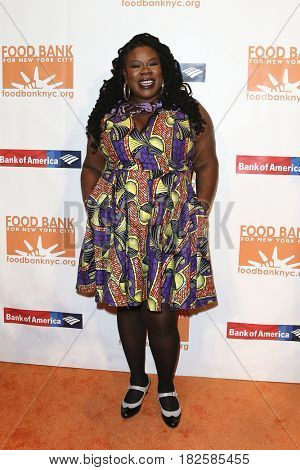 NEW YORK-APR 19: Tanya Fields attends the Food Bank for New York City's Can-Do Awards Dinner 2017 at Cipriani's on April 19, 2017 in New York City.