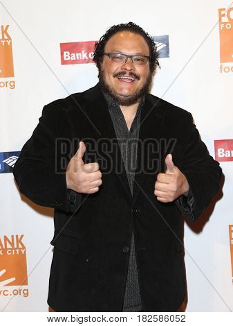 NEW YORK-APR 19: Actor Adrian Martinez attends the Food Bank for New York City's Can-Do Awards Dinner 2017 at Cipriani's on April 19, 2017 in New York City.