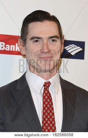 NEW YORK-APR 19: Actor Billy Crudup attends the Food Bank for New York City's Can-Do Awards Dinner 2017 at Cipriani's on April 19, 2017 in New York City.