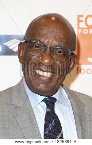 NEW YORK-APR 19: Al Roker attends the Food Bank for New York City's Can-Do Awards Dinner 2017 at Cipriani's on April 19, 2017 in New York City.
