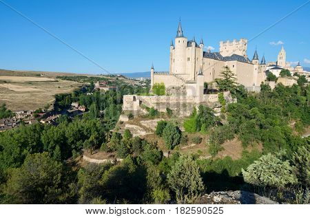 Alcazar of Segovia, Castilla Leon in Spain.