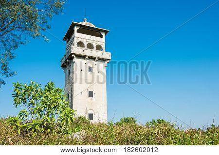 Gunagdong, China - Dec 17 2015: The Fang Clan Watch Tower Of Zili Village (unesco World Heritage Sit