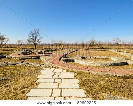 Pliska's Ruins, Capitals Of The First Bulgarian Kingdom
