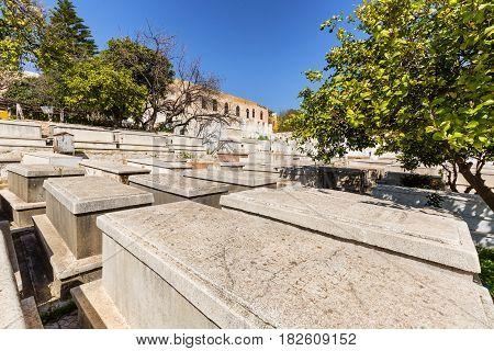 Jewish Cemetery In Fes Medina, Morocco