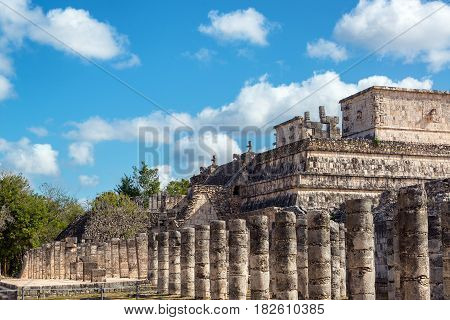 Thousand Columns And Temple Of The Warriors