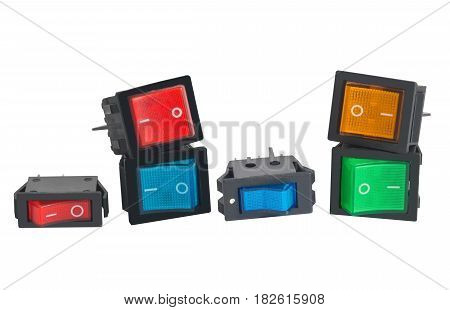 the electronic component. Switch on white background