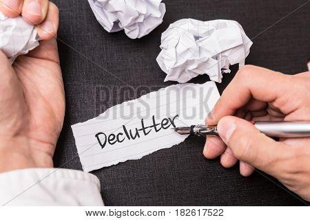 Declutter