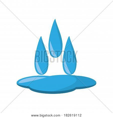 water ecological resourse isolated icon vector illustration design