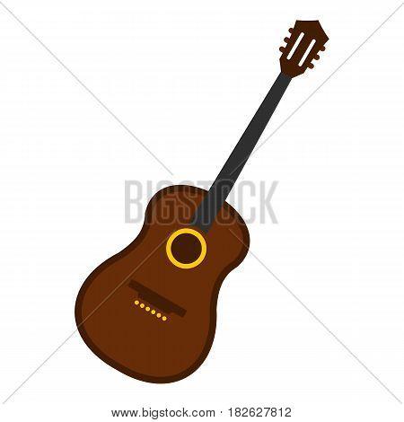 Charango, music instrument icon flat isolated on white background vector illustration