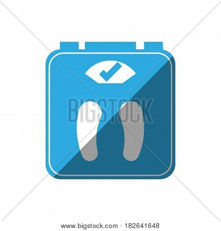 scale weight lose icon vector illustration design