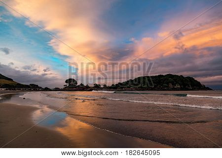 An image of Bay Of Plenty beach New Zealand