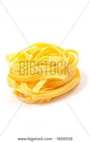 Uncooked Pasta Nest