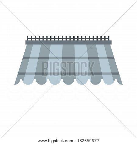 Hydro turbine icon flat isolated on white background vector illustration
