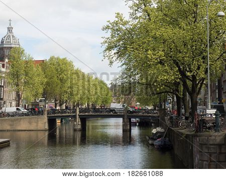 the City of Amsterdam in the netherlands
