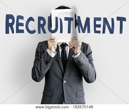 Business recruitment digital device