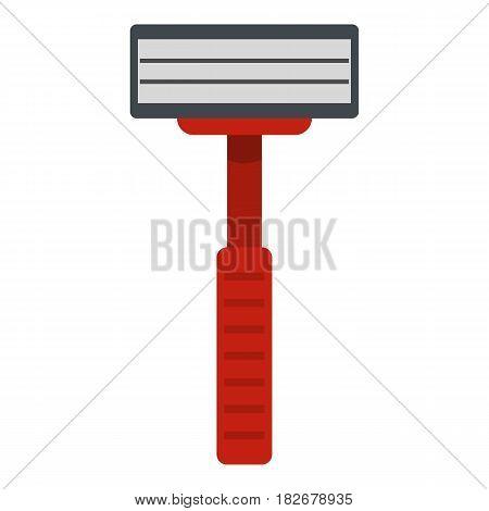 Shaver razor icon flat isolated on white background vector illustration