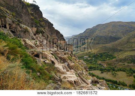 Vardzia Cave Monastery. Georgia