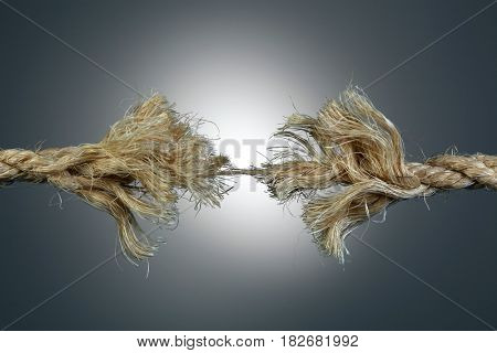 Rope fraying